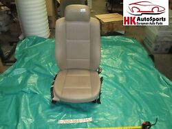 Front Right Bucket Seat Passenger Side Tan Leather BMW E46 325i Sedan 2001 01