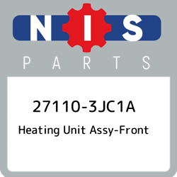 27110-3JC1A Nissan Heating unit assy-front 271103JC1A, New Genuine OEM Part