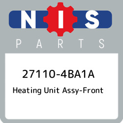27110-4ba1a Nissan Heating Unit Assy-front 271104ba1a, New Genuine Oem Part