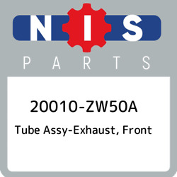 20010-zw50a Nissan Tube Assy-exhaust, Front 20010zw50a, New Genuine Oem Part