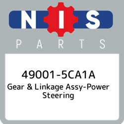 49001-5ca1a Nissan Gear And Linkage Assy-power Steering 490015ca1a New Genuine Oe