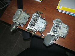 1967 corvette 427 435 hp holley set dated 674 early July 66