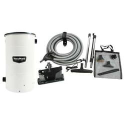 Central Vacuum Complete Attachment Kit Carpet Floor Cleaning Cleaners Vac Home