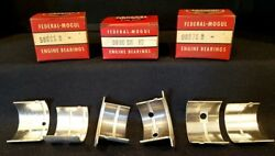 Main Bearing Set For Continental Tractor Oliver Ihc Federal-mogul 548m Nos
