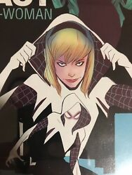 Edge of Spider-Verse #2 BLACK ERROR Variant!! CGC 9.6 1st Printing Spider-Gwen