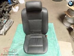 Front Right Passenger Bucket Seat Black Leather Heated 4.4L BMW E53 X5 2005 05