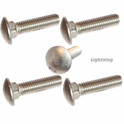 Carriage Bolt 316 Marine Grade Stainless Steel 5/8-11x5 Qty 100