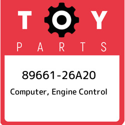 89661-26a20 Toyota Computer Engine Control 8966126a20 New Genuine Oem Part