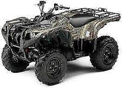 New Oem Yamaha Grizzly 550 700 4wd Front Right Fender Comp Camo Camouflage