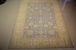 Genuine Hand-woven 100 Wool Fine Oushak 8.8 X 12.0and039 Great Deal75 Off