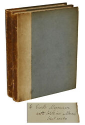 The Odyssey Of Homer William Morris Signed First Edition 1887 Eirikr Magnusson