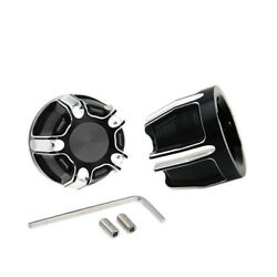 Cut Edge Shap Motorcycle 29mm Front Axle Nut Covers For Harley-davidson