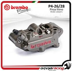 Brembo Racing Left Lh P4 26/28 40mm Pitch Mx Radial Calipers Motocross