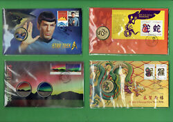 Ff. 5. Eight8 Pnc Stamped Envelopes - Chinese New Year Star Trek Etc.