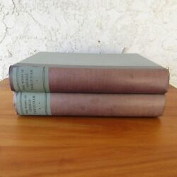 1930 Antique Book The Works Of George Farquhar Numbered 795/1000 2 Volume Set