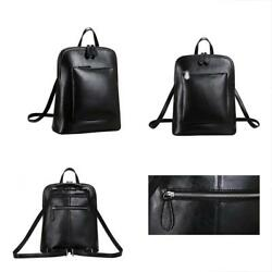 Heshe Shops Womens Vintage Leather Backpack Casual Daypack For Ladies And Girls