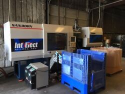 Van Dorn Entelect 165-8.4 0z. Only 322 Hours On This Machine