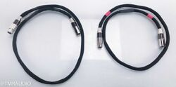 Morrow Audio 10 Year Anniversary XLR Cables; 1m Pair Balanced Interconnects