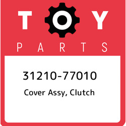 31210-77010 Toyota Cover Assy Clutch 3121077010 New Genuine Oem Part