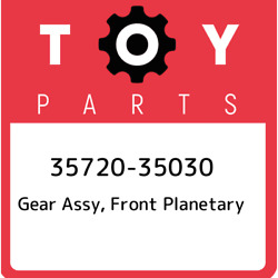 35720-35030 Toyota Gear Assy Front Planetary 3572035030 New Genuine Oem Part