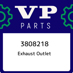 3808218 Volvo Penta Exhaust Outlet 3808218 New Genuine Oem Part