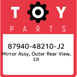 87940-48210-j2 Toyota Mirror Assy Outer Rear View Lh 8794048210j2 New Genuine
