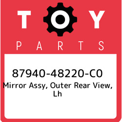 87940-48220-c0 Toyota Mirror Assy Outer Rear View Lh 8794048220c0 New Genuine