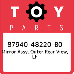 87940-48220-b0 Toyota Mirror Assy Outer Rear View Lh 8794048220b0 New Genuine