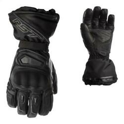 RST Paragon CE Approved Heated Thermal Waterproof Motorcycle Gloves Black 2260