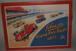 Schuco Replicas 1070/1075 Grand Prix Racer Set with Box, Yellow