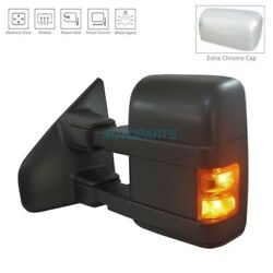 NEW LEFT SIDE POWER DOOR MIRROR HEATED FITS 2013-2014 FORD F-150 FO1320480