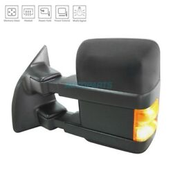 NEW LEFT POWER DOOR MIRROR HEATED FITS 2008-09 FORD F-250 SUPER DUTY FO1320426