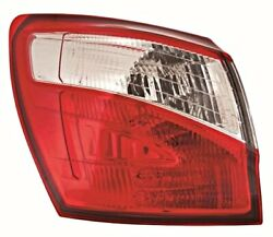 Outer Tail Light Rear Lamp Left Fits Nissan Dualis Qashqai Suv 2007-