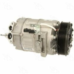 Four Seasons 68662 AC Compressor with Clutch and Specific Electrical Connector