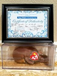 *SUPER RARE ODDITY AUTHENTICATED* Ty Beanie Baby -