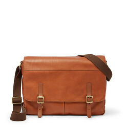 Fossil Defender Messenger Cognac Bag MBG9349222