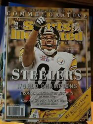 Hines Ward Super Bowl Xl Sports Illustrated Commemorative 2006 Steelers No Label