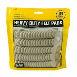 Smart Surface Heavy Duty Self Adhesive Furniture Felt Pads Assorted Colors