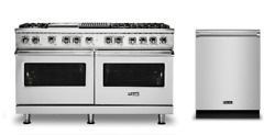 Viking Pro 5 Series 60in Gas Range with Grill and Griddle - VGR5606GQSS