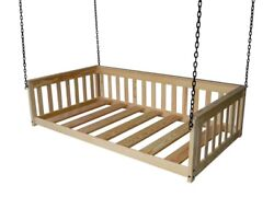 Versaloft Amish-made Pine Twin Mission Hanging Daybeds By Aandl Furniture Company