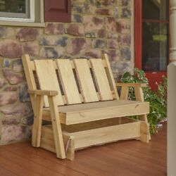 Aandl Furniture Co. Blue Mountain Glider Benches - 3 Sizes And 4 Finishes