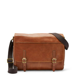 Fossil Defender Messenger Cognac Bag MBG9037222