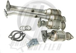 Aftermarket Xterra 4.0l All Four Catalytic Converters 2005-2015 Obdii