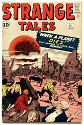 Strange Tales 97 1962-marvel-jack Kirby-1st Aunt May And Uncle Ben-ditko-fn