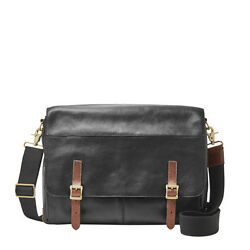 Fossil Defender Messenger Black Bag MBG9037001