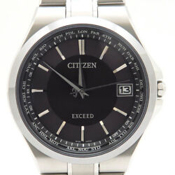 CITIZEN WATCH EXCEED CB1035-57E Eco-drive Radio Watch Direct Flight Titanium