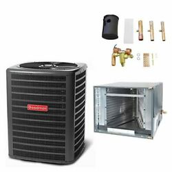 Goodman - 3 Ton Air Conditioner + Coil Kit - 14.0 Seer - 21 Coil Width - For...