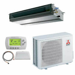 Mitsubishi - 30k BTU Cooling Only - P-Series Concealed Duct Air Conditioning ...