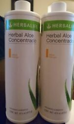 2 New Herbalife Herbal Aloe Concentrate -choose Flavor- Free Ship Exp 04/2022