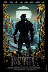 Black Panther     * MONDO POSTER *     Avengers - Denys Cowan    SOLD OUT  2018